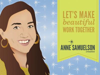 Anne Samuelson Creative Postcard