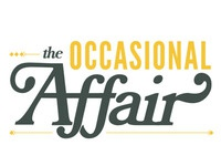 The Occasional Affair Logo 3 event planning logo lettering