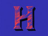 36 Days Of Type - H