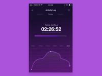 Activity Tracker UI #DailyUI [4]