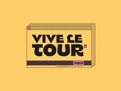 vive le tour. cycling colorful identity logo typography logo typography design typography tour de france