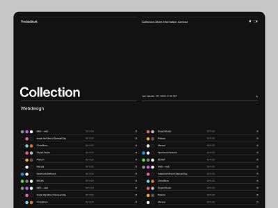 TheGüdStuff. Design Inspiration branding minimal screendesign helvetica grid webdesign