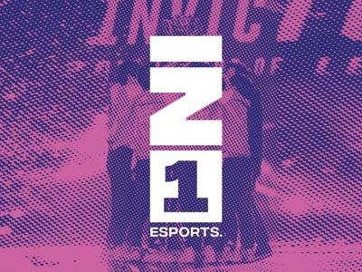 IN1 Esports gaming logo gaming minimal identity branding typography esport logotype logo logo mark esportslogo esports logo esports
