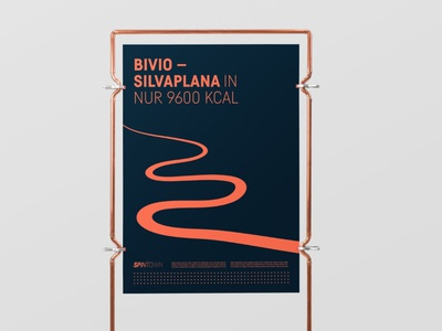 SPIN TO WIN — LOCAL CYCLING CLIQUE blue orange tours roadbike cycling poster identity logo branding minimal typography