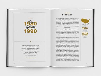 Rap Artist Book illustration layout book print