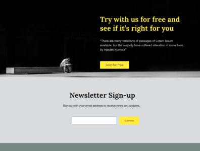 Community web Design 2 communities web dashboard design website ui typography flat design uiux ux ui design