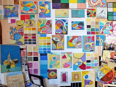 20 paints with 20 different techniques pictural techniques peinture paints