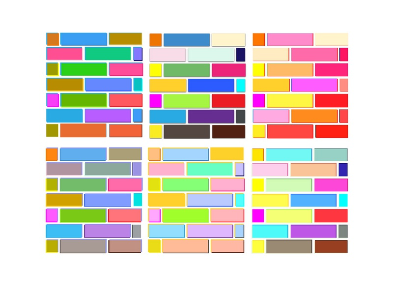 Saturation & glaze variation glaze saturation numerique design illustration illustrator