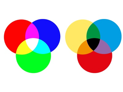 Lights and Tints chromatic craft form waves colours contrast design illustration illustrator