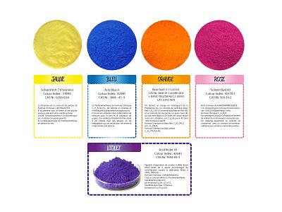 Acid Pigments emulsion chromatic craft form waves colours contrast design illustration illustrator
