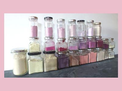 26 Natural Pigments chromatic craft form pigment colours colorant