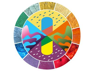 Plants Pigments Colorchart chromatic craft form pigment colours colorant