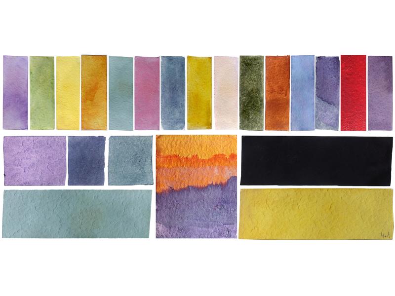 20 Super Natural Colors swatches plants craft colours chromatic numerique