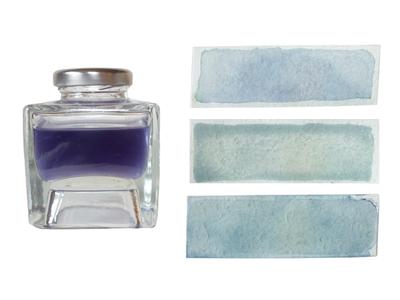 Cornflower craft plant dye blue ink colours