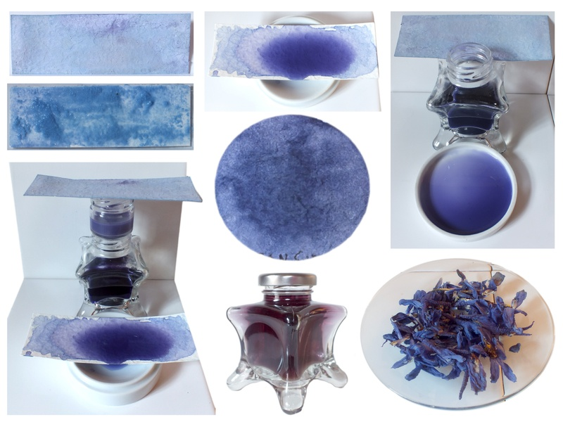 Natural Blue Inks chromatic colours craft