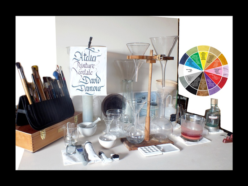 Poster Workshops workshop ateliers poster craft colours