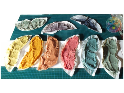 Naturals Pigments from Plants painting chromatic colours craft