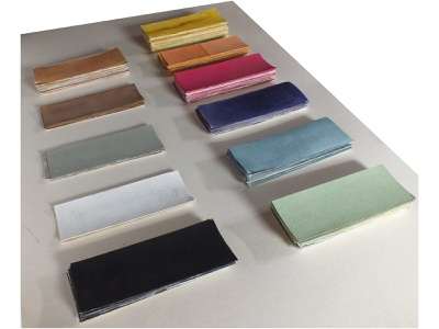 Pure Dye Swatches chromatic craft colours