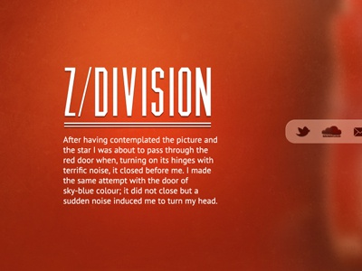 Z/Division layout blog ui musician
