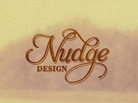 Nudge Design Logo