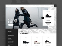 nū age needs - Fashion eCommerce Landing Concept