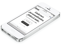 Favo Design - Home Page - Mobile Version