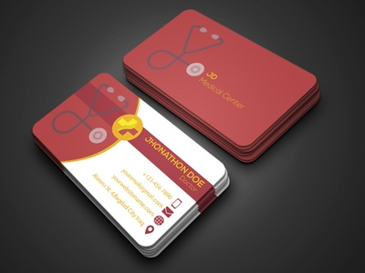Doctor Business Card with Logo