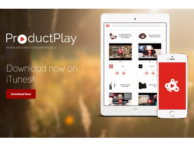 ProductPlay Company Website uxui web design graphic design mobile