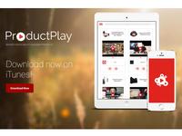 ProductPlay Company Website