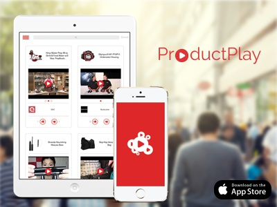 ProductPlay App uxui web design graphic design mobile