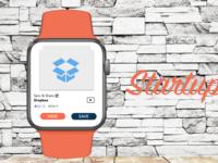 Startupvids iWatch Concept