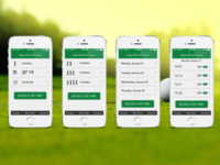 Golf Mobile Booking App