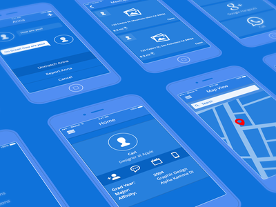 Alumnify Wireframezzz wireframes visual ux ui mobile sketch