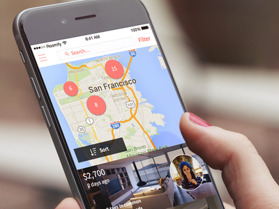 Roomify Mobile App mobile design web design mobile visual ux ui design photoshop sketch