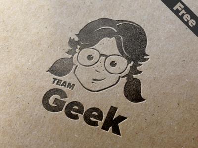 Free Geek Pack free eps freebie free icons avatars geek nerd hipster geek girls illustartion