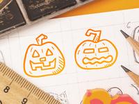 Spooky Icons - Pumpkins
