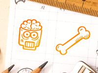 Spooky Icons - Brainzzzz