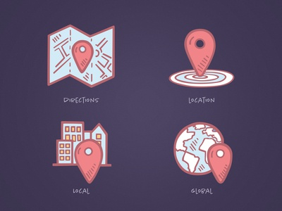 Business Icons - Location
