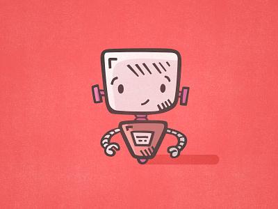 I <3 Robot illustrator tiny art icon illustration tinyart clipart icon design icons doodle hand drawn