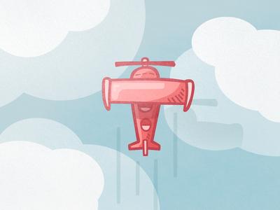 Plane - Summer Icons
