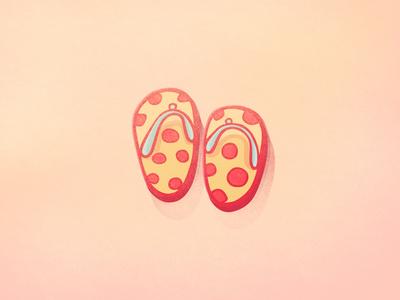 Flip Flops - Summer Icons