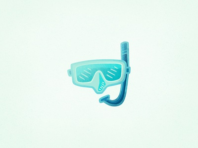 Snorkling Mask - Summer Icons