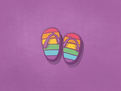 Pride - Flip Flops