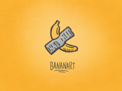 Bananart illustration hand drawn doodle icons icon design