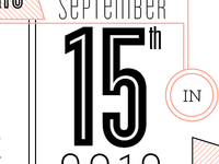 working on my sisters save the date.