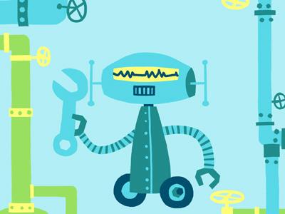 Singlerobotb dribble