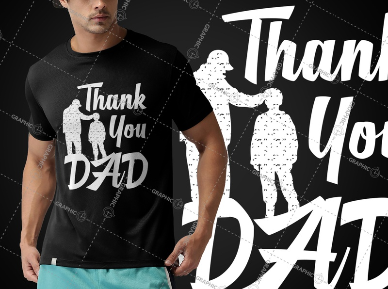 Father's Day T-Shirt Design papa dad logodesign design tshirtdesign summer tshirt summer logo illustration funny tshirt