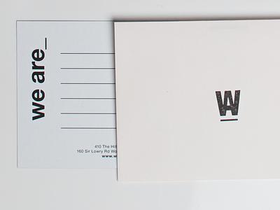 we are_ stationary-branding