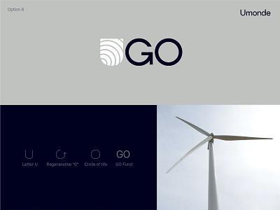 Logo option for Asset Management Fund technology digital asset fund enegry renewable energy logo asset management