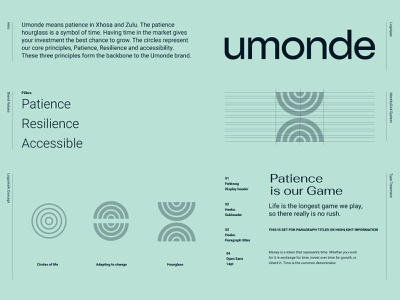 Umonde brand Blueprint renewable energy renewable technology asset digital logotype logo blueprint branding brand